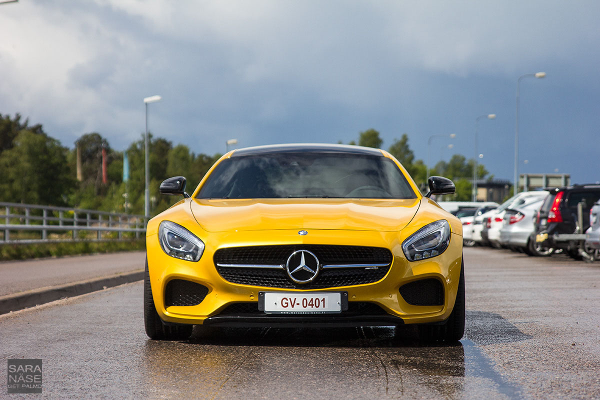 Mercedes-AMG GTS front
