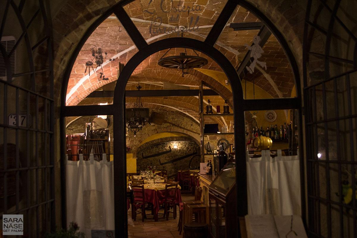 Osteria del Pinzagrilli restaurant