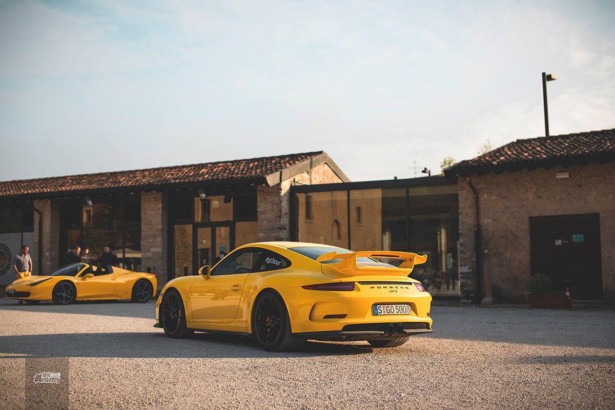 In The Spotlight Porsche 991 Gt3 In Brescia