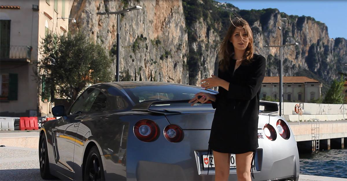 Sara and Nissan GT-R