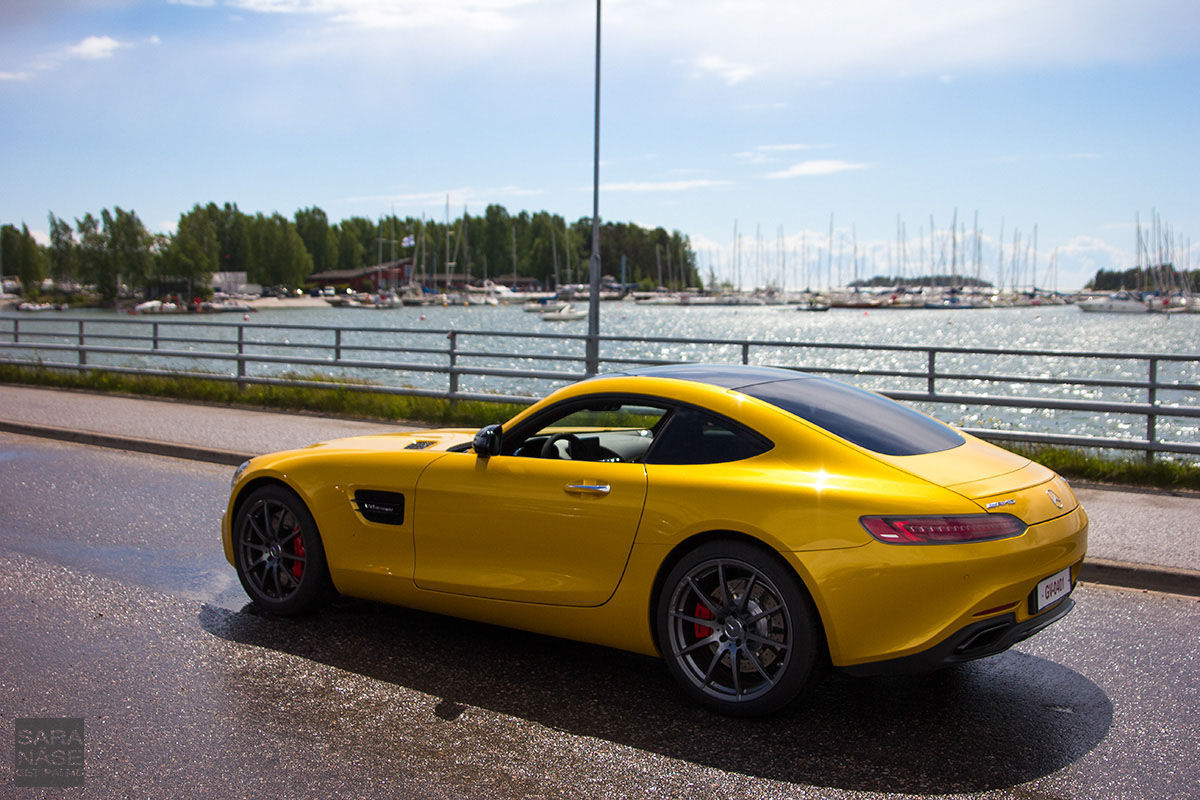 Solarbeam yellow Mercedes-AMG GT