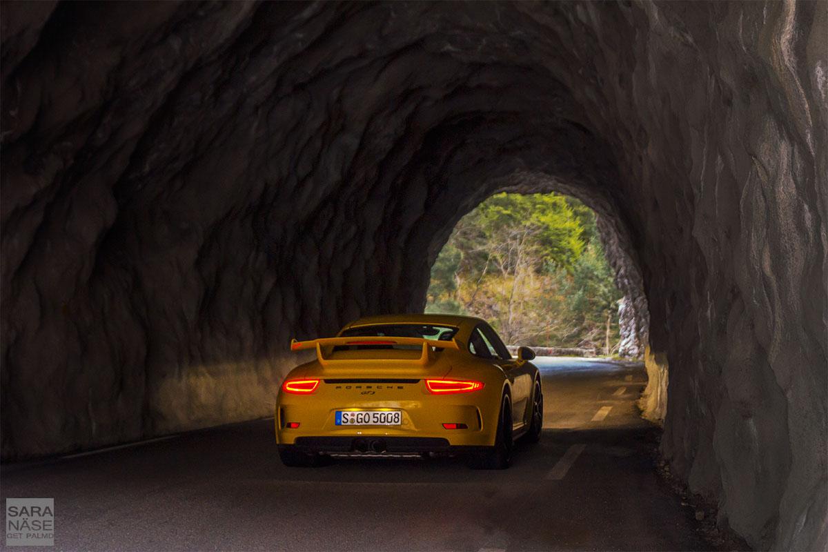 991 GT3 tunnel