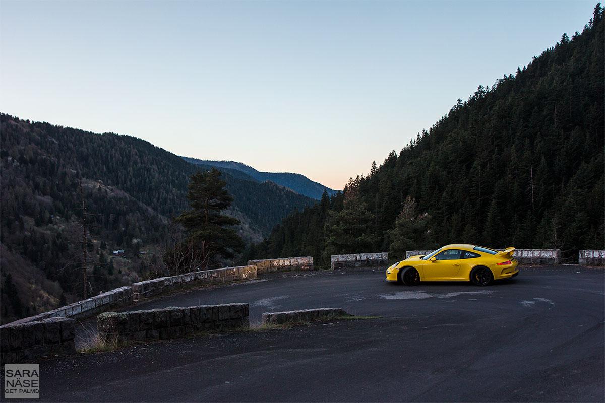 Col de Turini rally corner