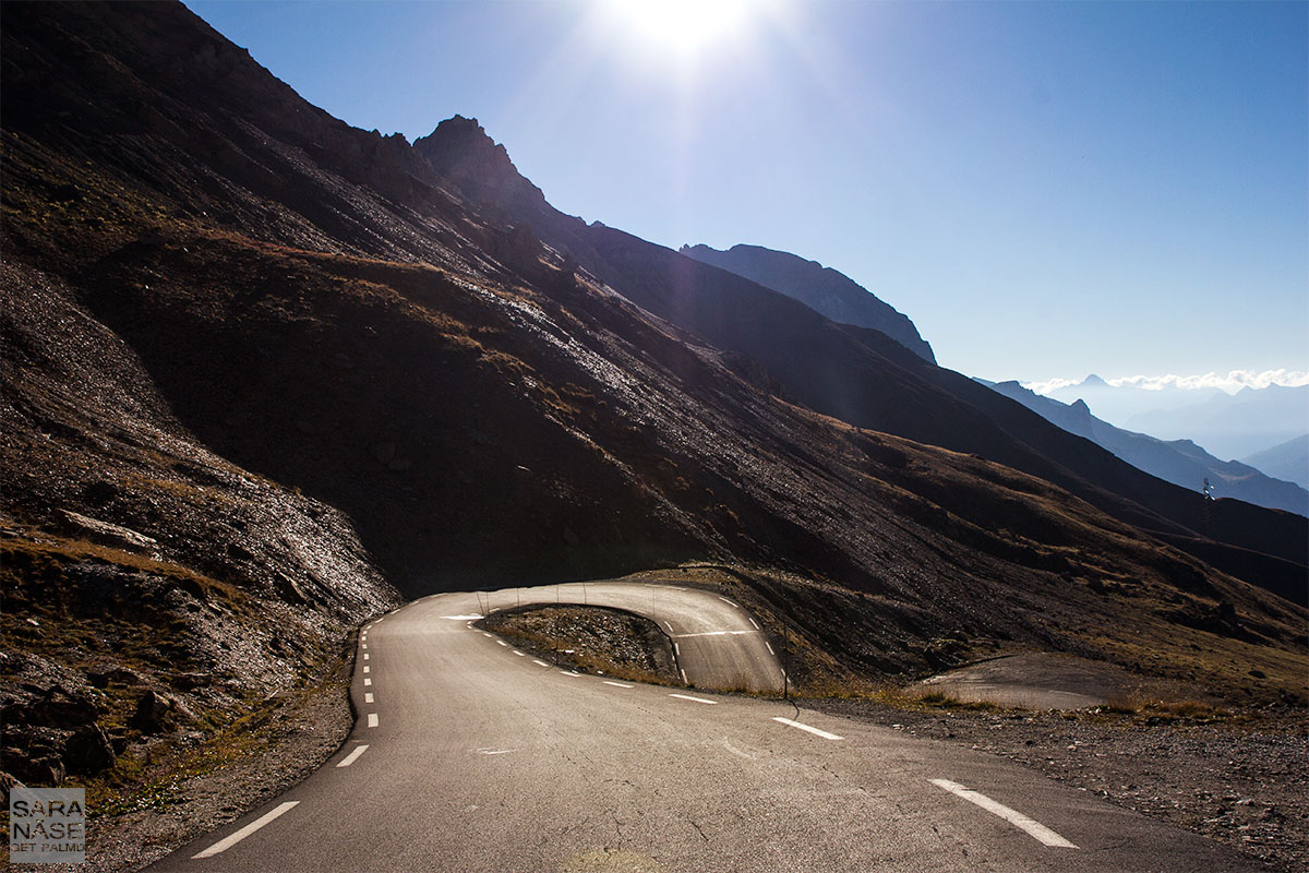 Curve in road