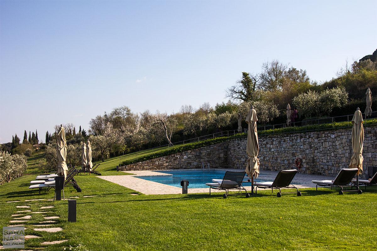 Hotel Le Fontanelle pool