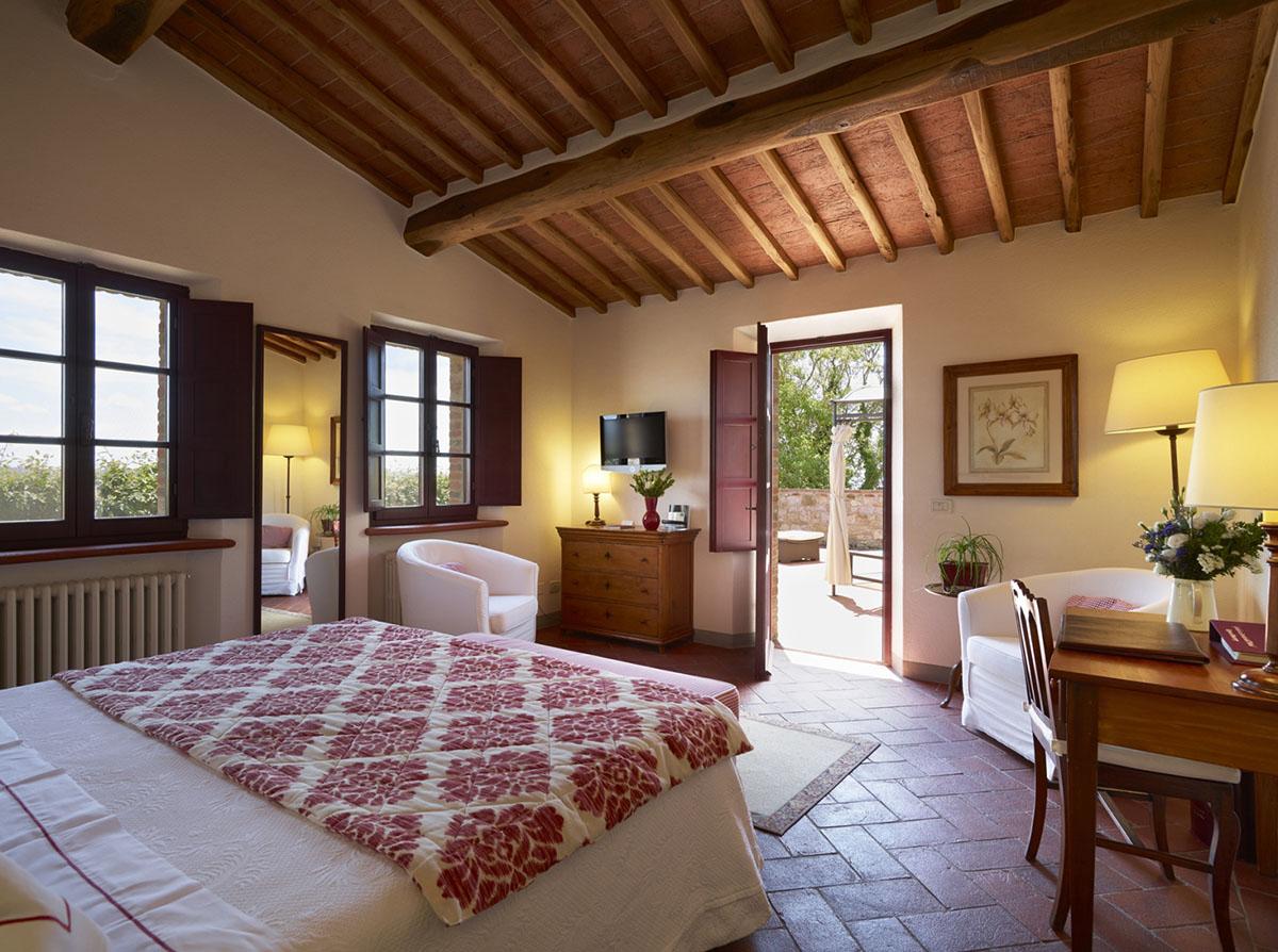 Hotel Le Fontanelle room