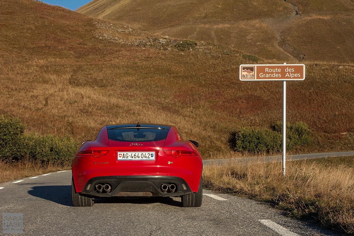 Jaguar FTYPE Grandes Alpes