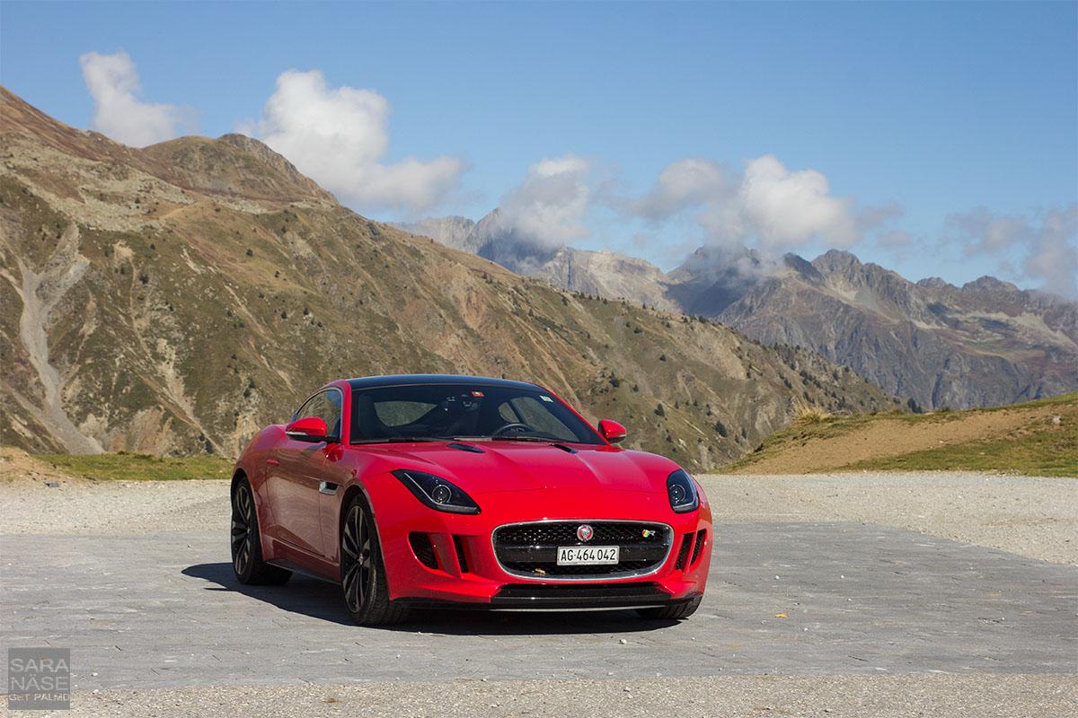 Jaguar on Col du Glandon