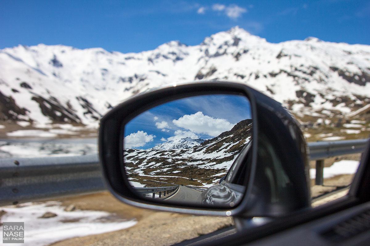 Mirror Splugen Pass