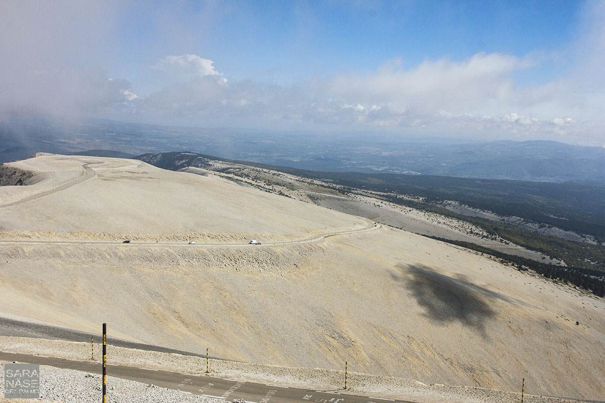 Mont Ventoux cloud