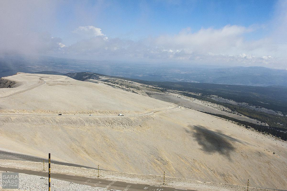 Mont Ventoux cloud