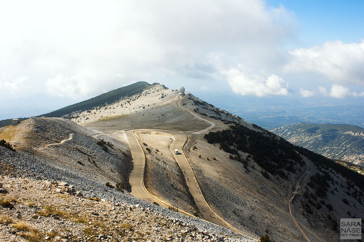 Day 13 Mont Ventoux Road To Cloudline In Provence