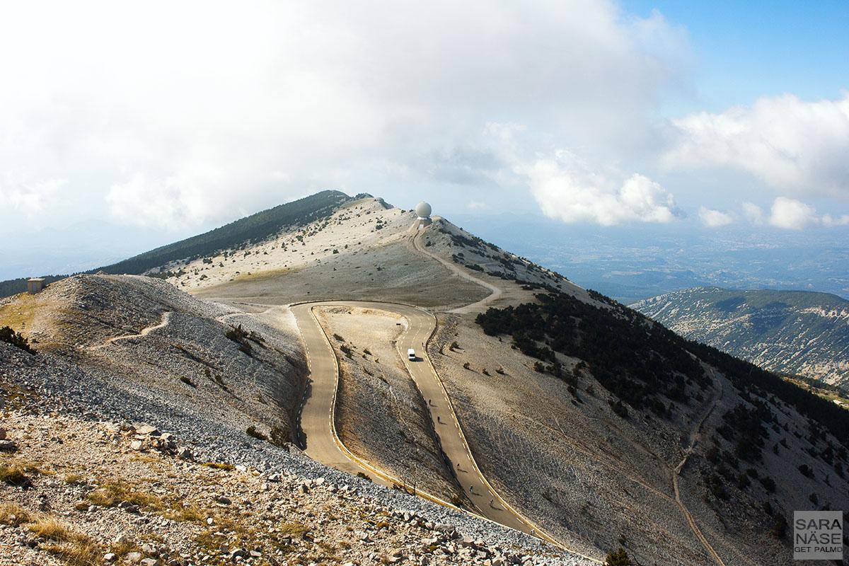 Mont Ventoux road