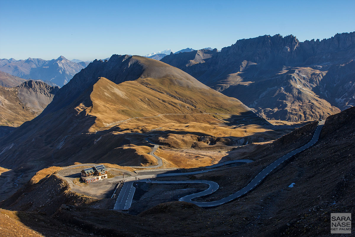 Mountain pass view