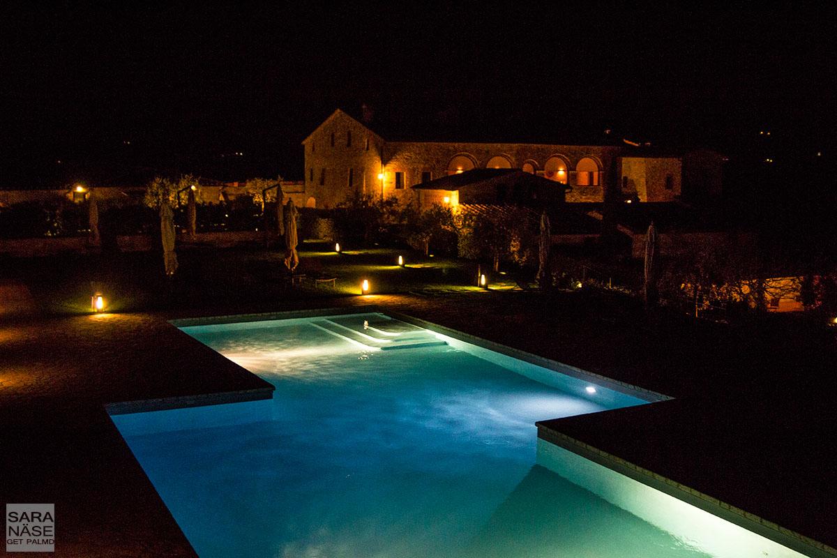 Night pool Le Fontanelle