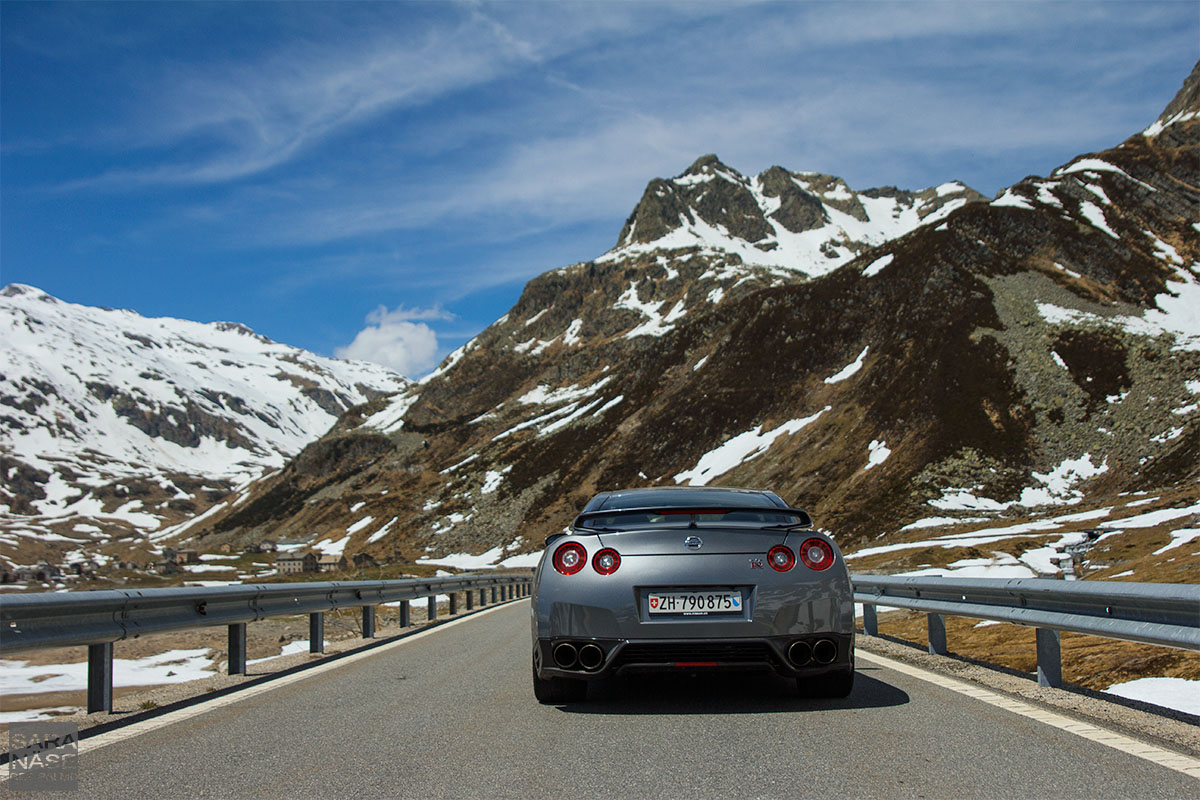 Nissan GTR Track Edition rear