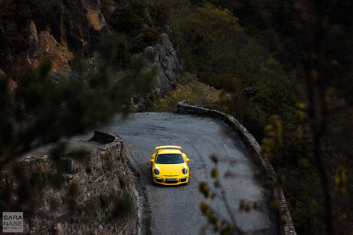 Porsche 911 GT3 Col de Turini