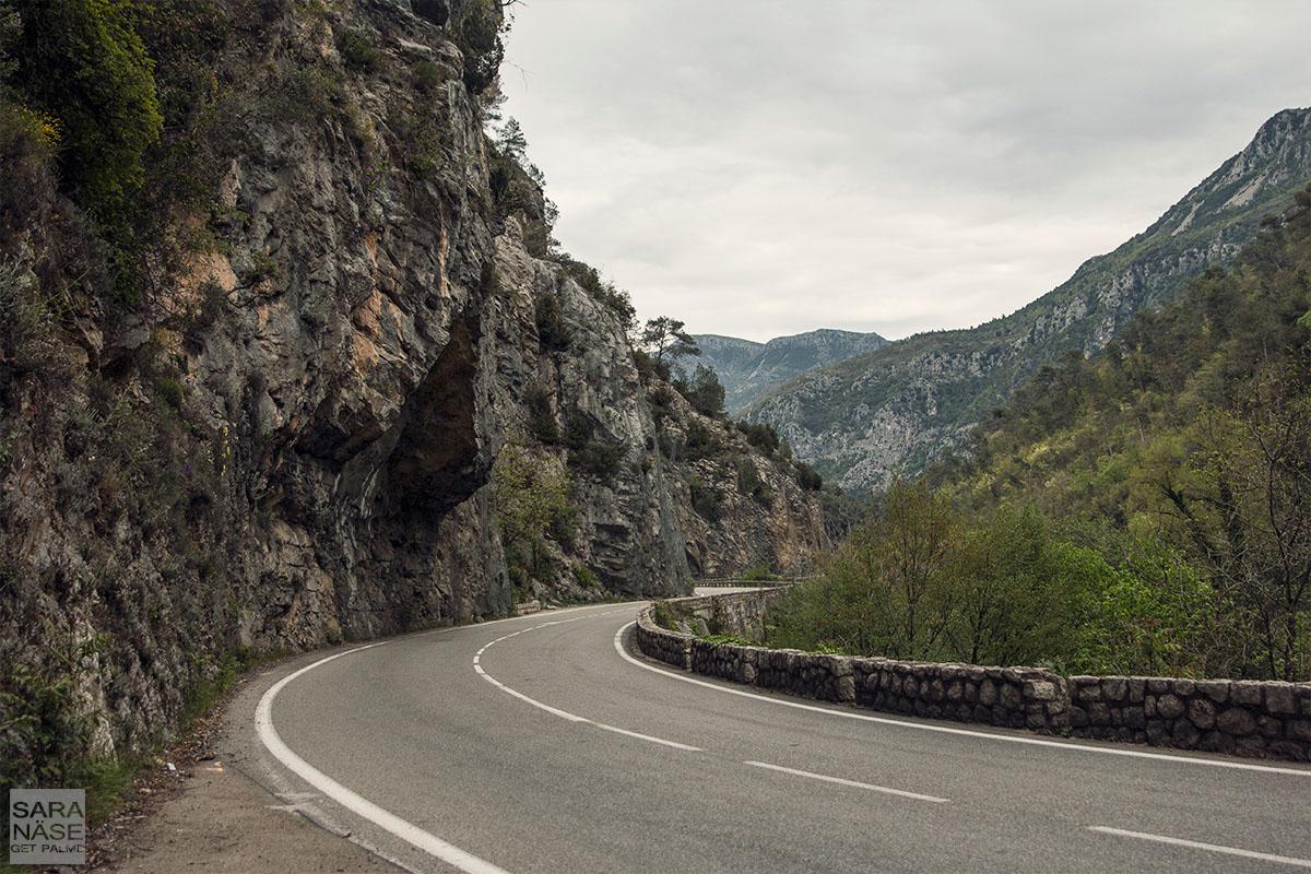 Road to Turini