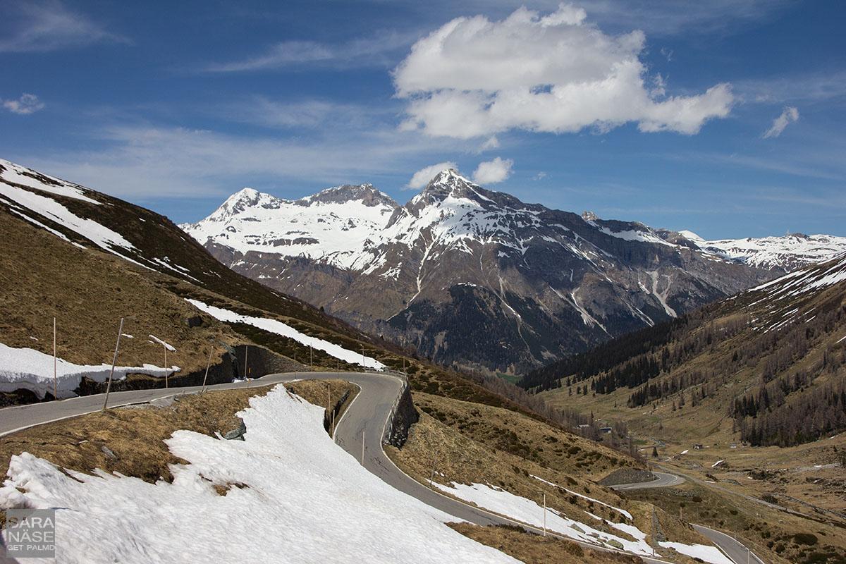 Splugen Pass Schweiz