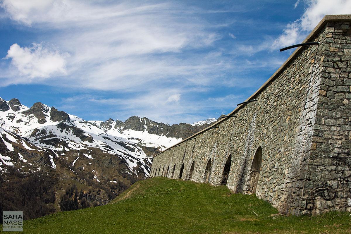 Splugen Pass tunnel