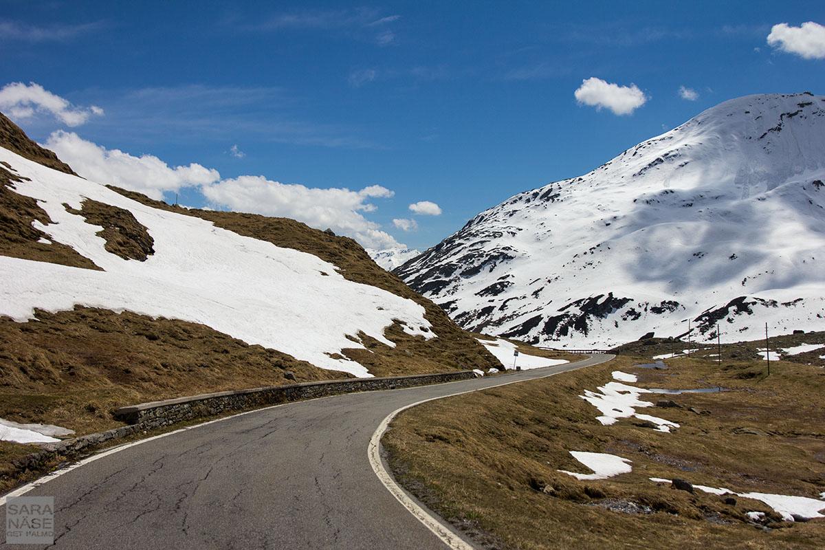 Splugenpass road