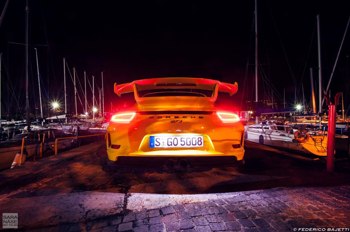 GT3 night rear