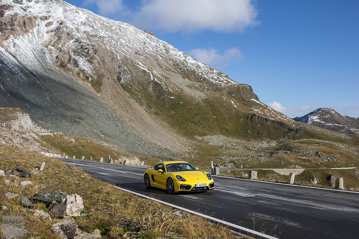 Grossglockner Porsche Cayman