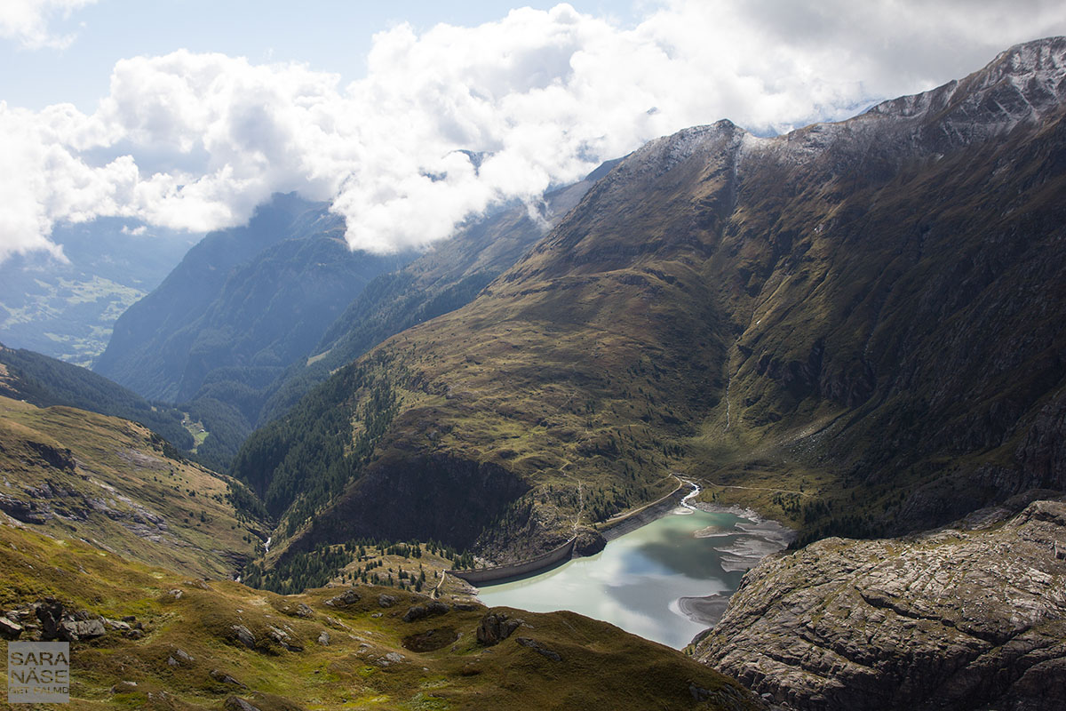 Grossglockner lake