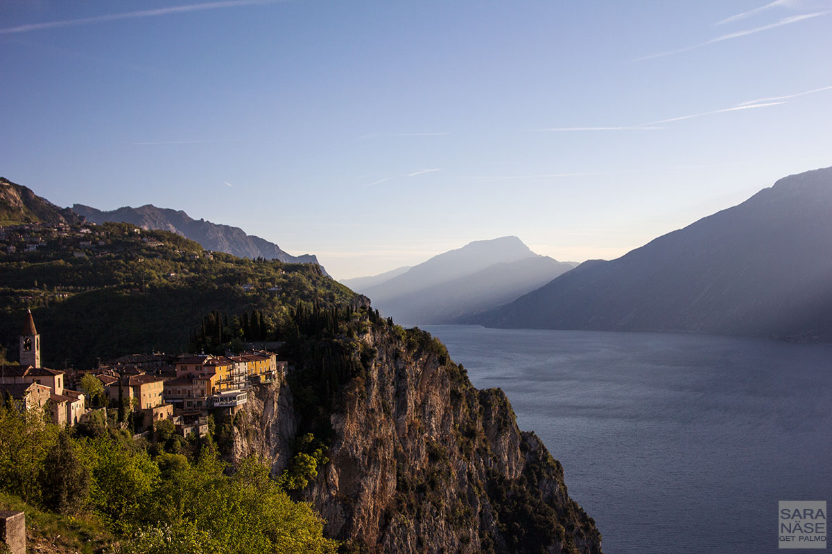 Lake Garda morning landscape