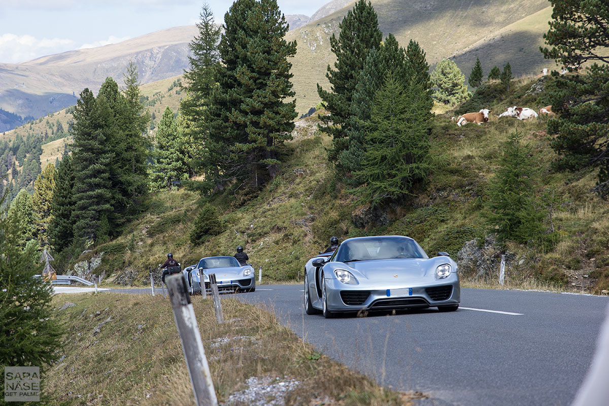 Porsche 918 Spyder Nockalm