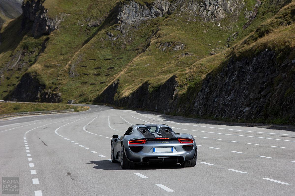 Porsche 918 Spyder launch