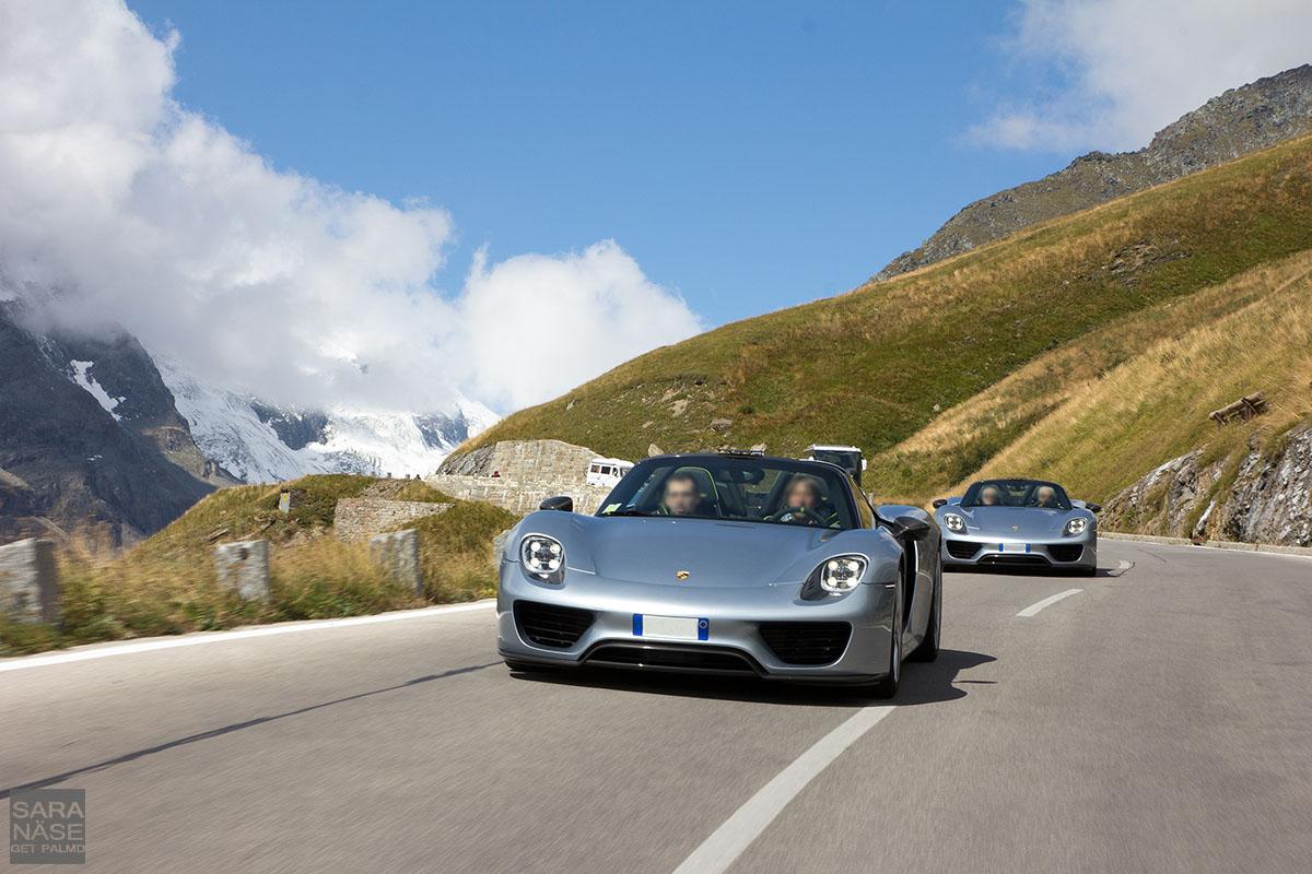 Porsche 918 Spyder rolling