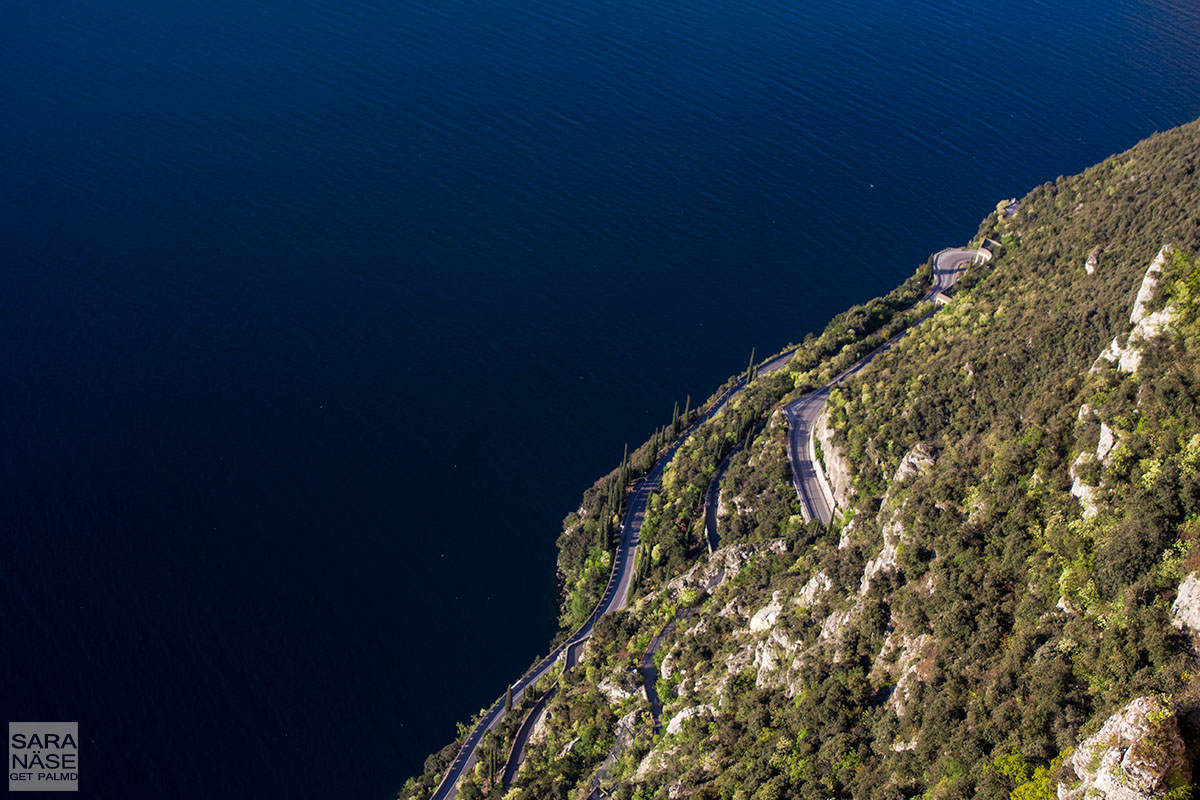 Road by Lake Garda