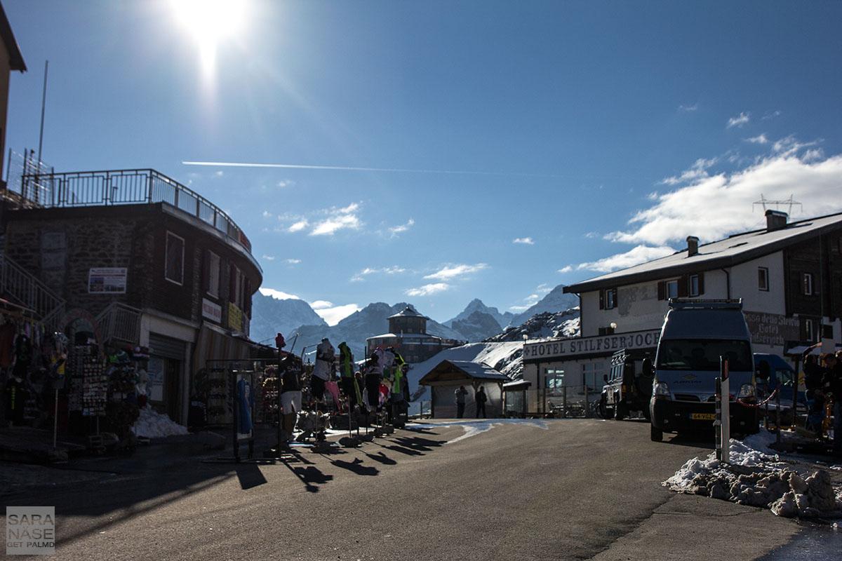 Stelvio Pass sunny