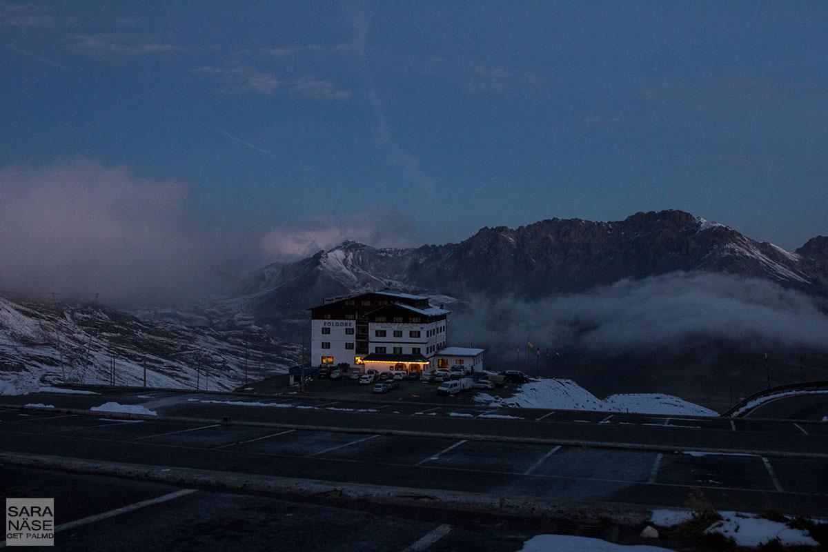 Stelvio morning clouds