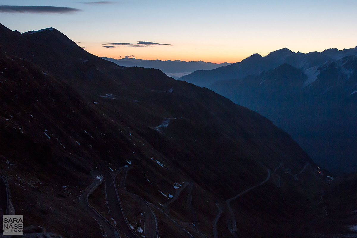 Stelvio morning colours