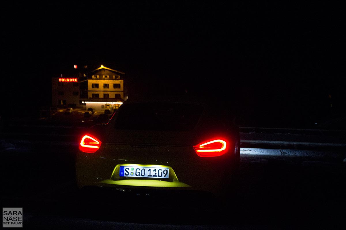 Stelvio night drive
