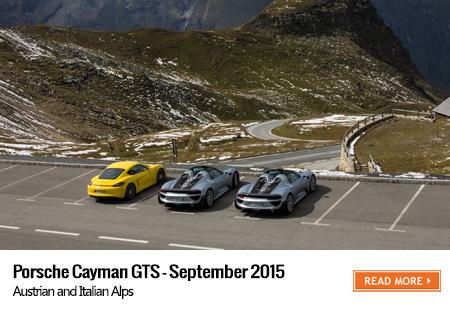 Cayman GTS road trip