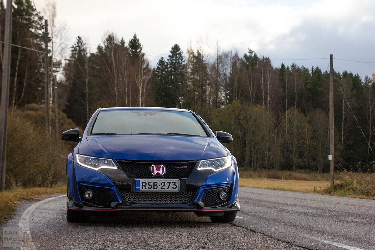 Honda Civic Type R blue