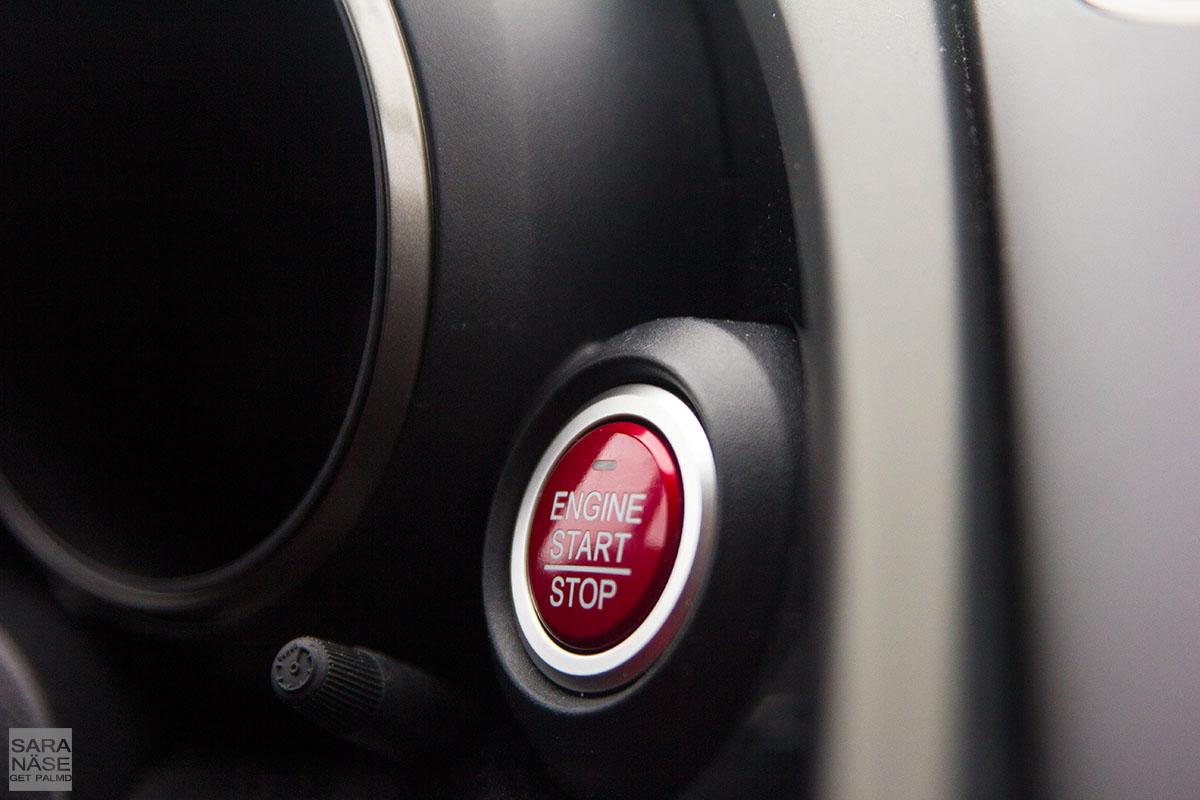 Honda Civic Type R start