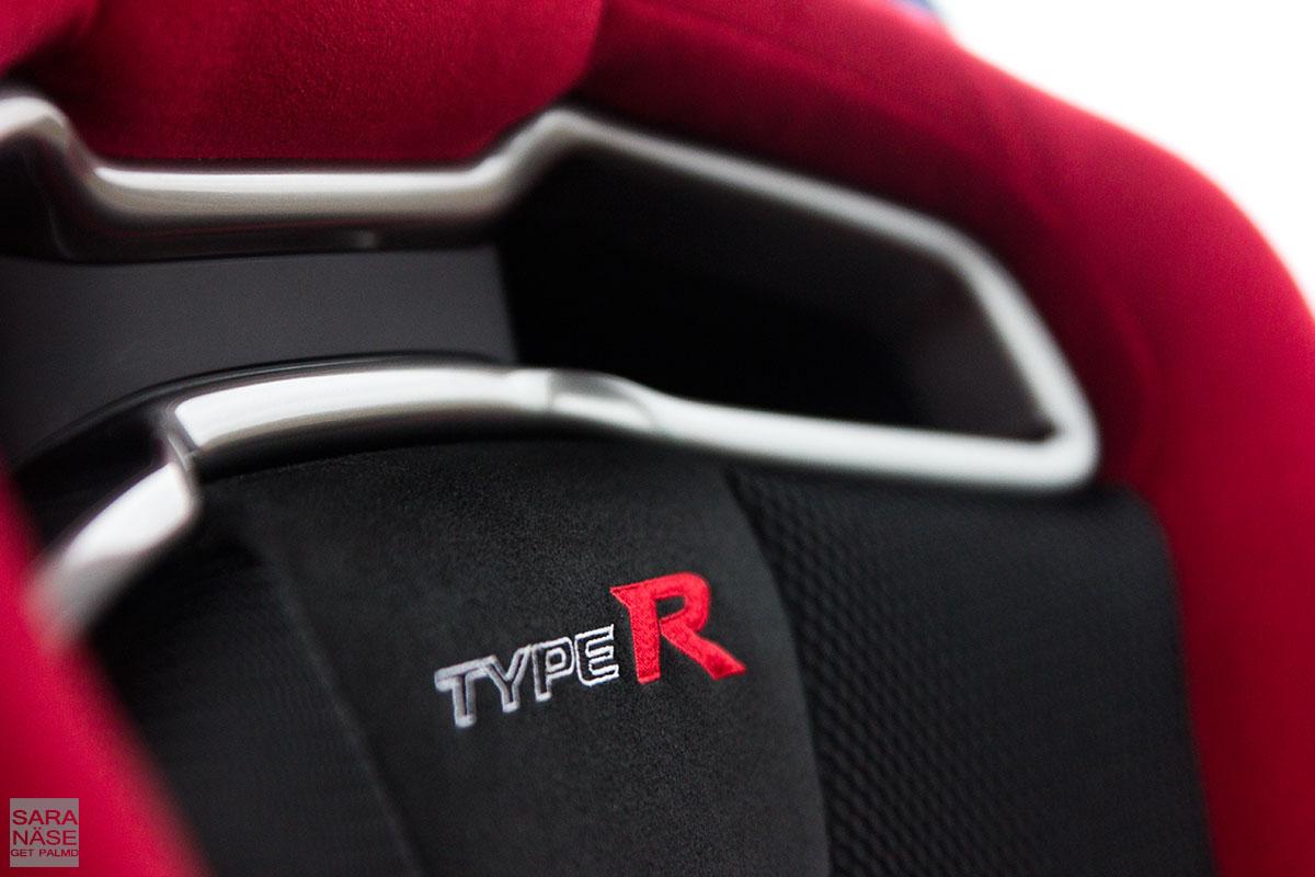 Honda Civic Type R suede seat