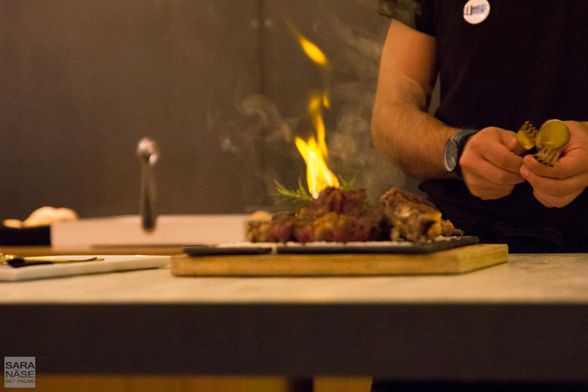 Mas Lazuli restaurant Spain