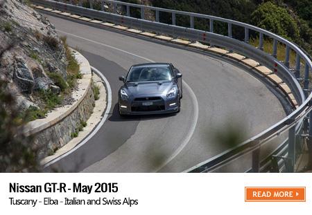 Nissan GTR road trip