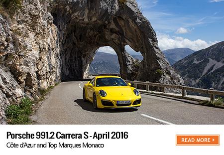 Porsche 991.2 Carrera S road trip