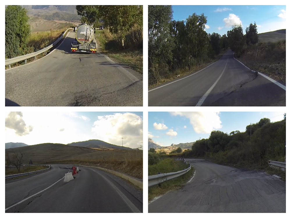 Targa Florio road condition