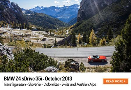 Z4 road trip BMW