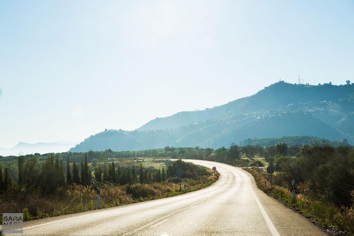 Costa del Sol road