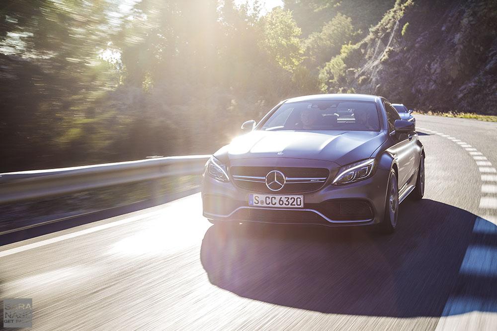 Mercedes-AMG C63 drive