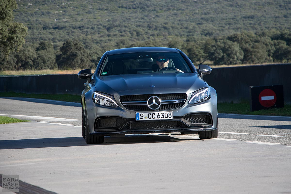 mercedes amg c63 s coup in ascari race resort. Black Bedroom Furniture Sets. Home Design Ideas