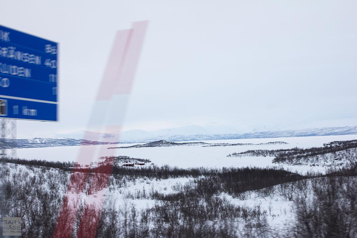 Approaching Riksgränsen